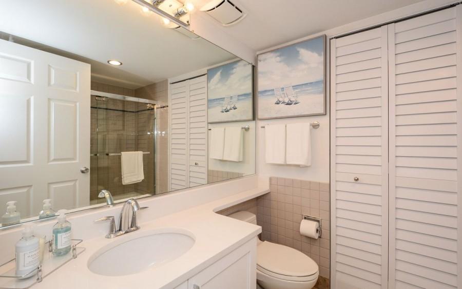 bathroom - washer/dryer