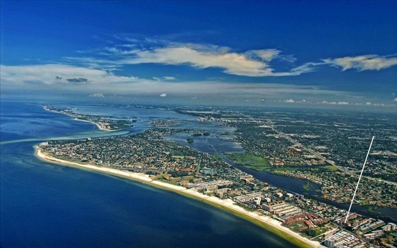 Aerial View Gulf Coast